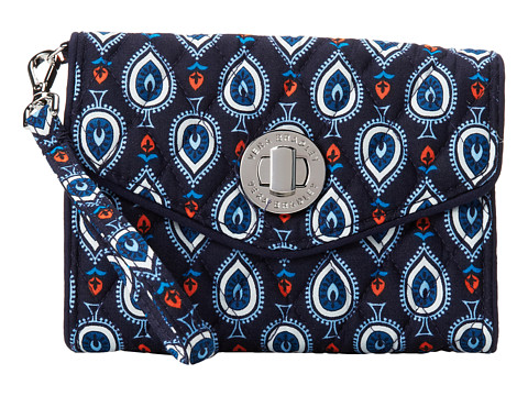Vera Bradley - Your Turn Smartphone Wristlet (Marrakesh Motifs) Wristlet Handbags