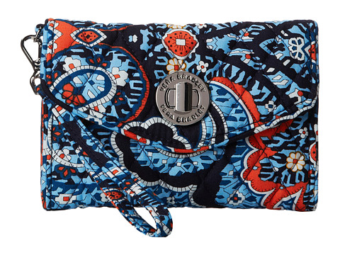 Vera Bradley - Your Turn Smartphone Wristlet (Marrakesh) Wristlet Handbags