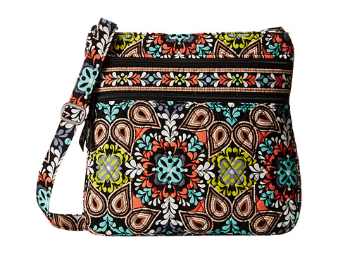Vera Bradley - Triple Zip Hipster (Sierra) Cross Body Handbags