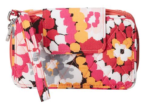 Vera Bradley - Smartphone Wristlet 2.0 (Pixie Blooms) Wristlet Handbags