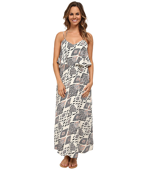 Vince Camuto - Marrakesh Tapestry Maxi Dress (Antique White) Women's Dress