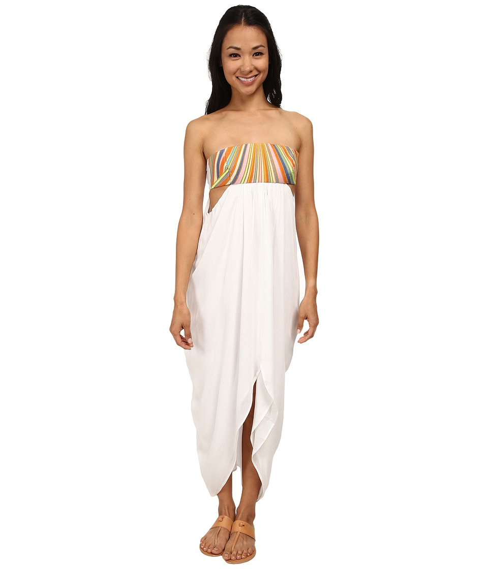 Mara Hoffman Embroidered Maxi Dress (White) Women