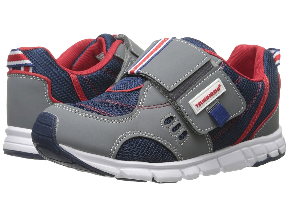 Tsukihoshi Kids - Soho (Toddler/Little Kid) (Gray/Navy) Boys Shoes