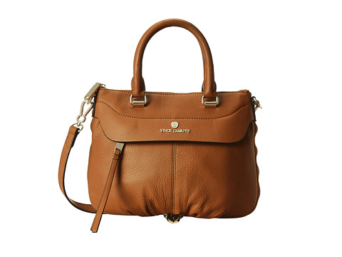 Vince Camuto - Dean Small Satchel (Rich Auburn) Satchel Handbags