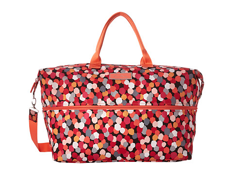 Vera Bradley Luggage - Lighten Up Expandable Travel Bag (Pixie Confetti) Weekender/Overnight Luggage
