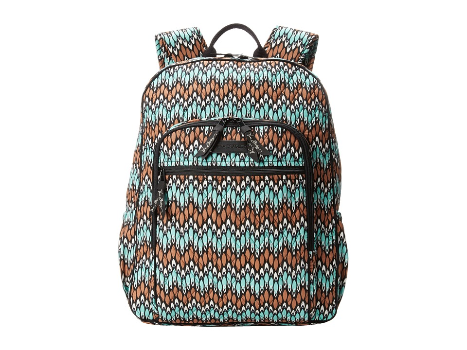 Vera Bradley - Campus Backpack (Sierra Stream) Backpack Bags
