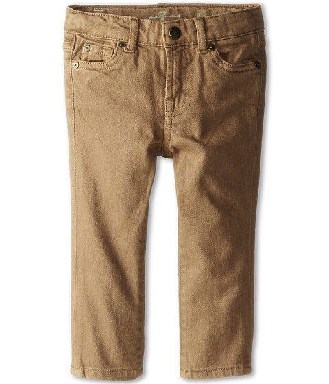 7 For All Mankind Kids - Straight Leg Jeans in Sand (Infant) (Sand) Boy