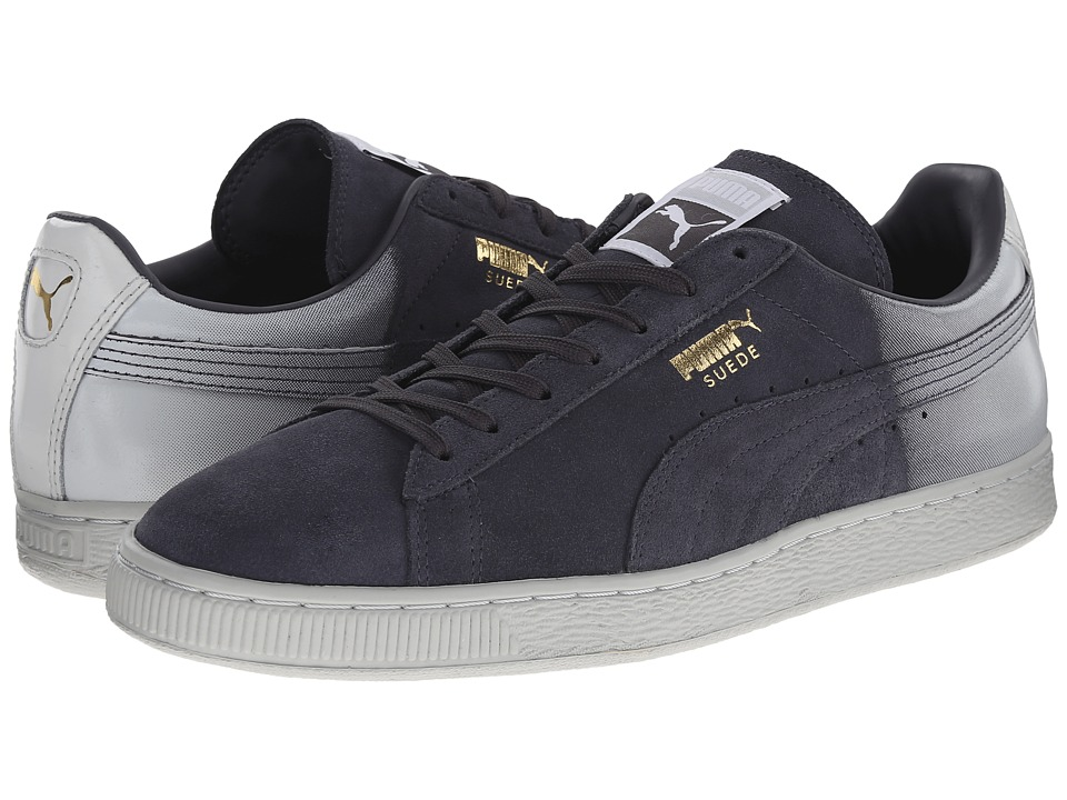 PUMA - Suede Classic Blur (Periscope/Glacier Grey/White) Men's Shoes