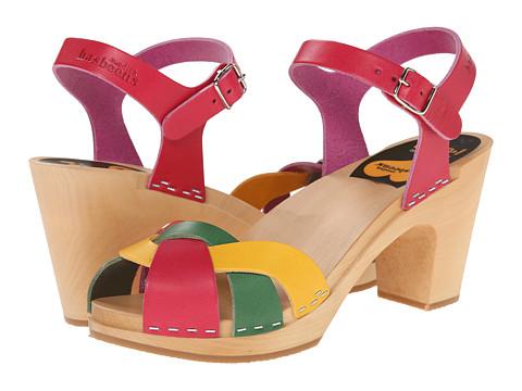 Swedish Hasbeens - Kringlan (Strong Color Combo) High Heels