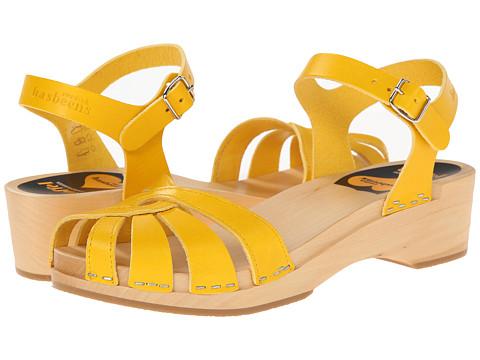 Swedish Hasbeens - Cross Strap Debutant (New Yellow) Women