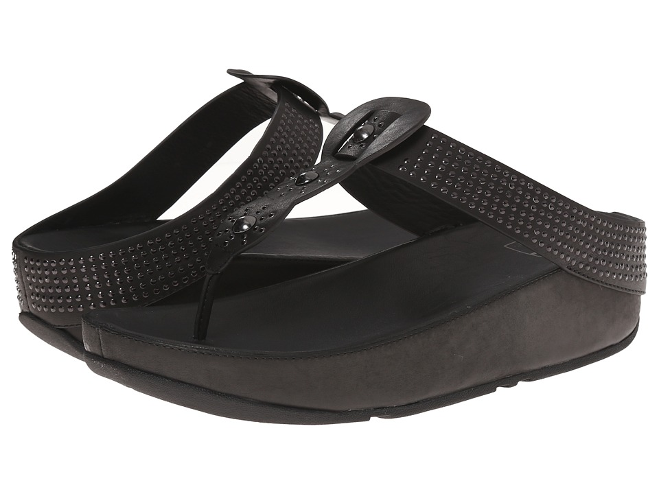 FitFlop - Boho (Black) Women's Sandals