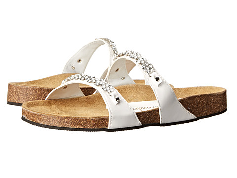 Athena Alexander - Pamela (White Patent) Women's Sandals