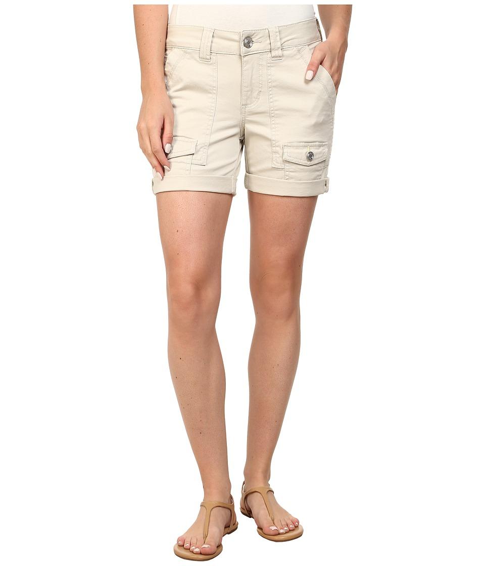 Jag Jeans Petite - Petite Elsa Shorts (Stone) Women's Shorts