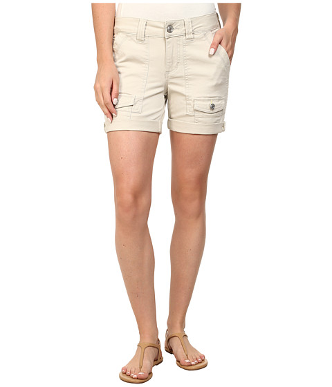 Jag Jeans Petite - Petite Elsa Shorts (Stone) Women