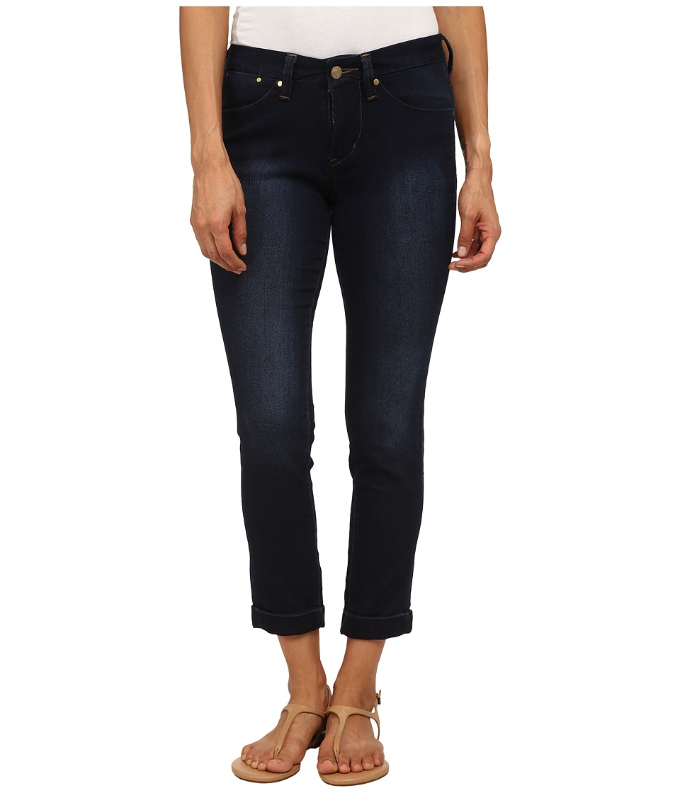 Jag Jeans Petite - Petite Erin Cuffed Ankle in Dark Whale (Dark Whale) Women's Jeans
