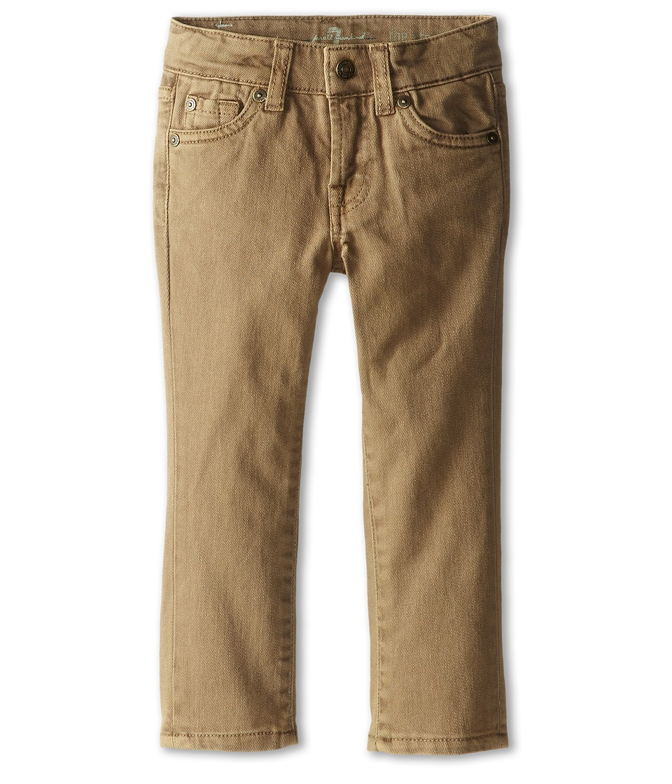 7 For All Mankind Kids - Straight Leg Jeans in Sand (Toddler) (Sand) Boy's Jeans