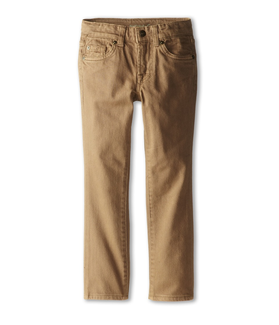7 For All Mankind Kids - Straight Leg Jeans in Sand (Little Kids/Big Kids) (Sand) Boy's Jeans
