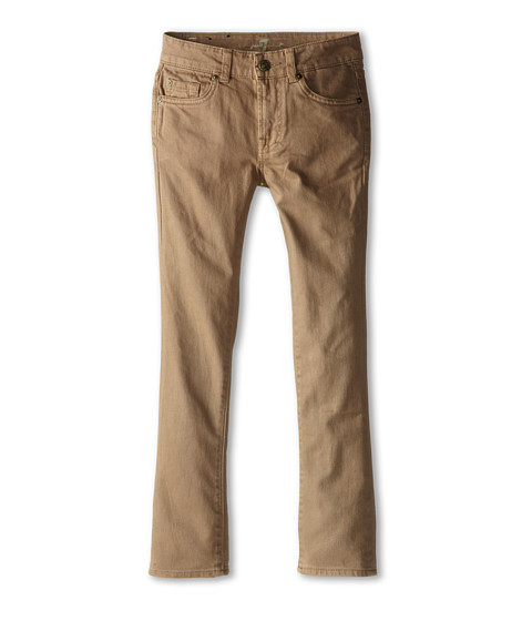 7 For All Mankind Kids - Straight Leg Jeans in Sand (Big Kids) (Sand) Boy