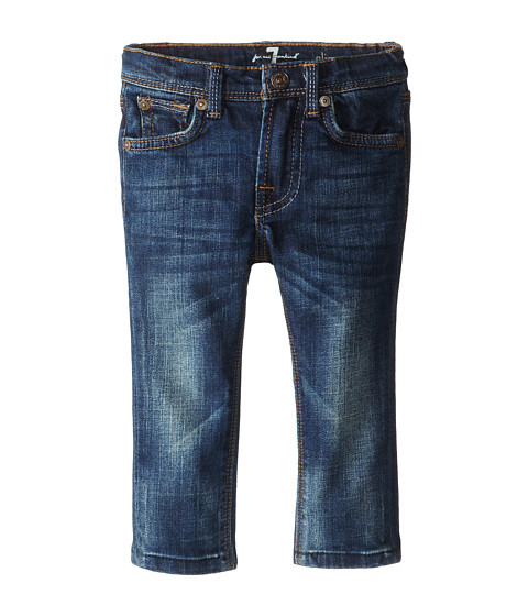 7 For All Mankind Kids - Slim Straight Jeans in Heritage Blue (Infant) (Heritage Blue) Boy