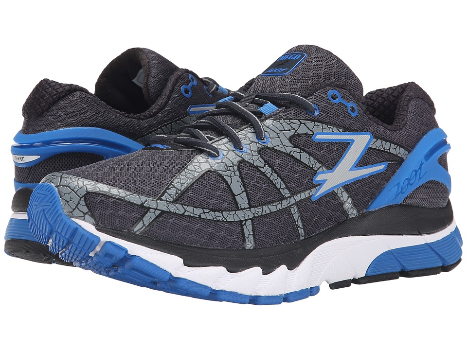 Zoot Sports - Diego (Pewter/Black/Zoot Blue) Men's Running Shoes