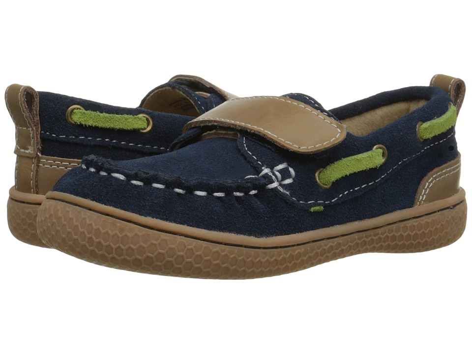 Livie & Luca - North (Toddler/Little Kid) (Navy) Boys Shoes
