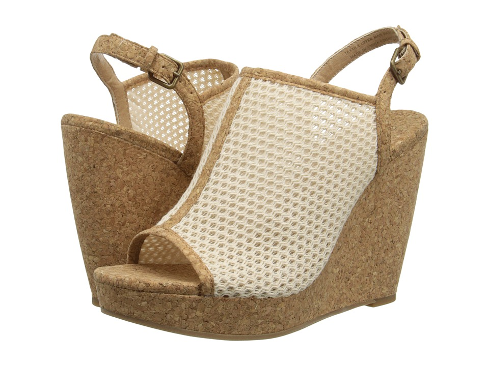 Splendid - Dominque (Cream Mesh) Women's Wedge Shoes