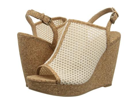 Splendid - Dominque (Cream Mesh) Women's Wedge Shoes