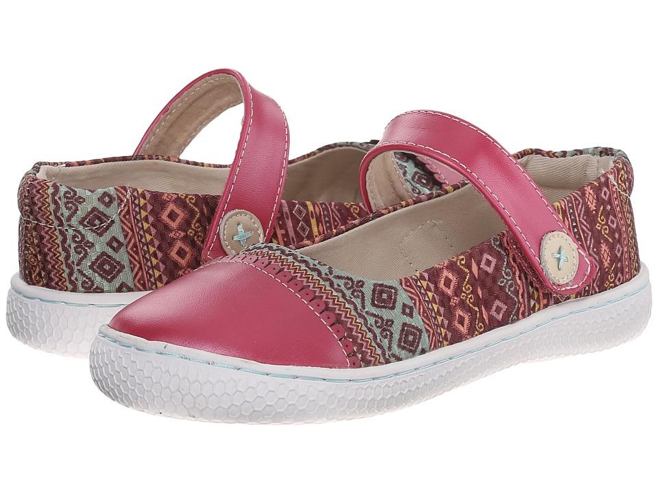Livie & Luca - Skipper (Toddler/Little Kid) (Magenta Shimmer) Girl's Shoes
