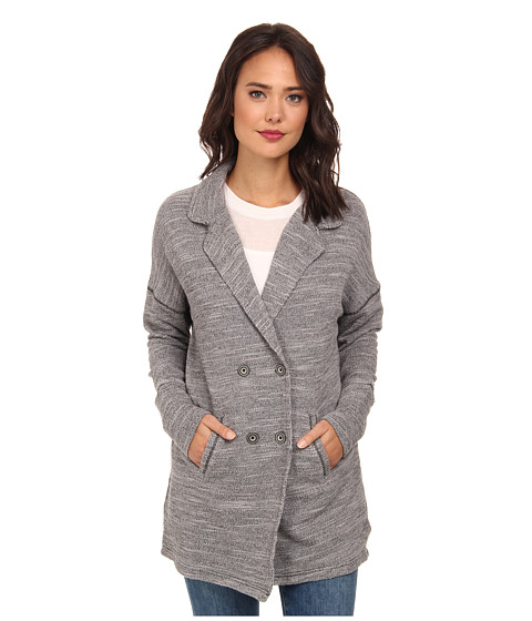 Free People - Casual Friday Blazer (Grey Heather) Women