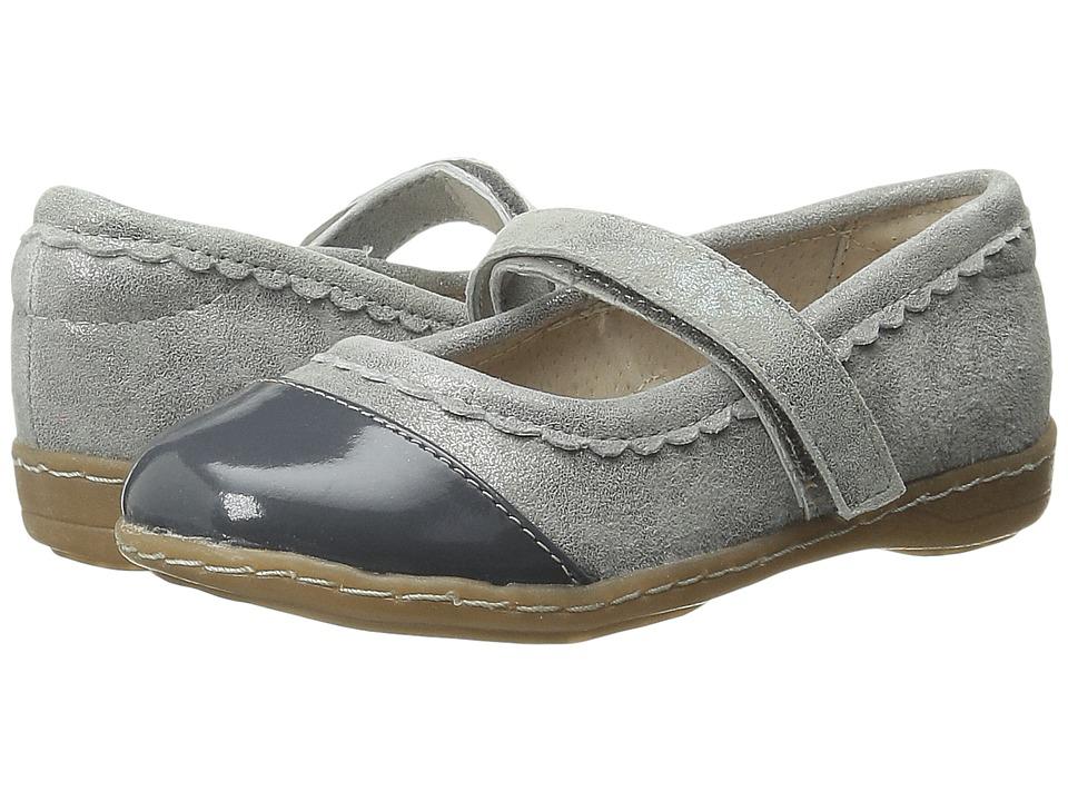 Livie & Luca - Harper (Toddler/Little Kid) (Silver Metallic) Girl's Shoes