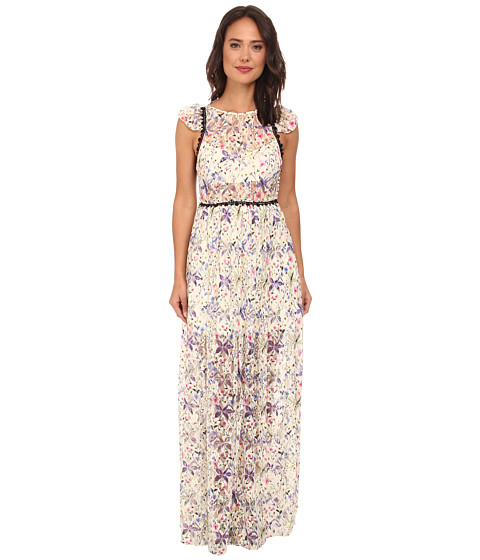 Free People - Cherry Blossom Maxi Dress (Spring Garden Combo) Women