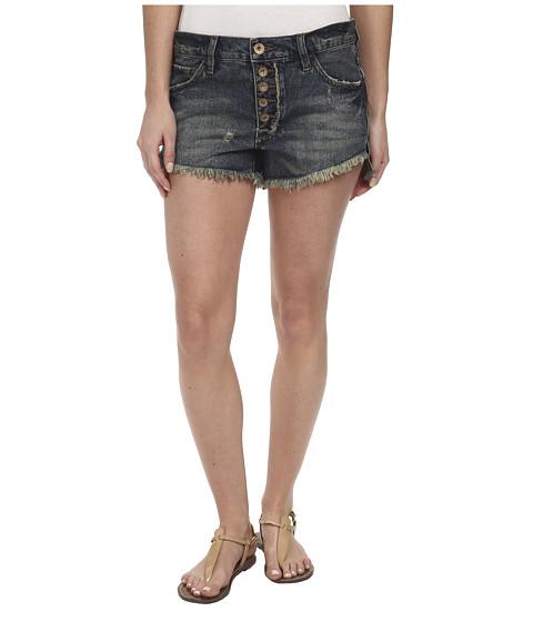 Free People - Runaway Cutoff Denim Shorts (Jillian Blue) Women's Shorts