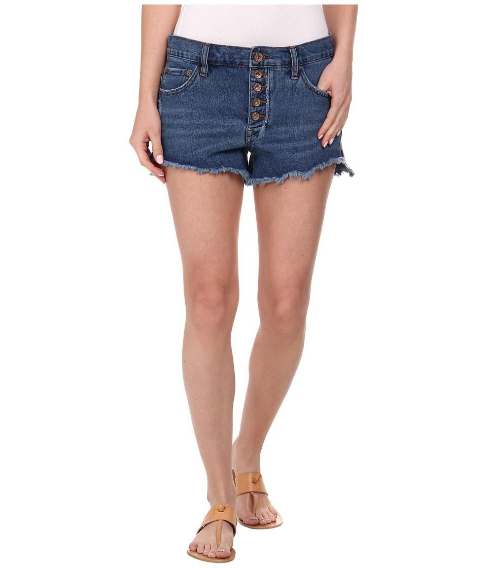 Free People - Runaway Cutoff Denim Shorts (Brightest Blue) Women
