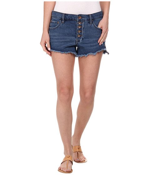 Free People - Runaway Cutoff Denim Shorts (Brightest Blue) Women's Shorts