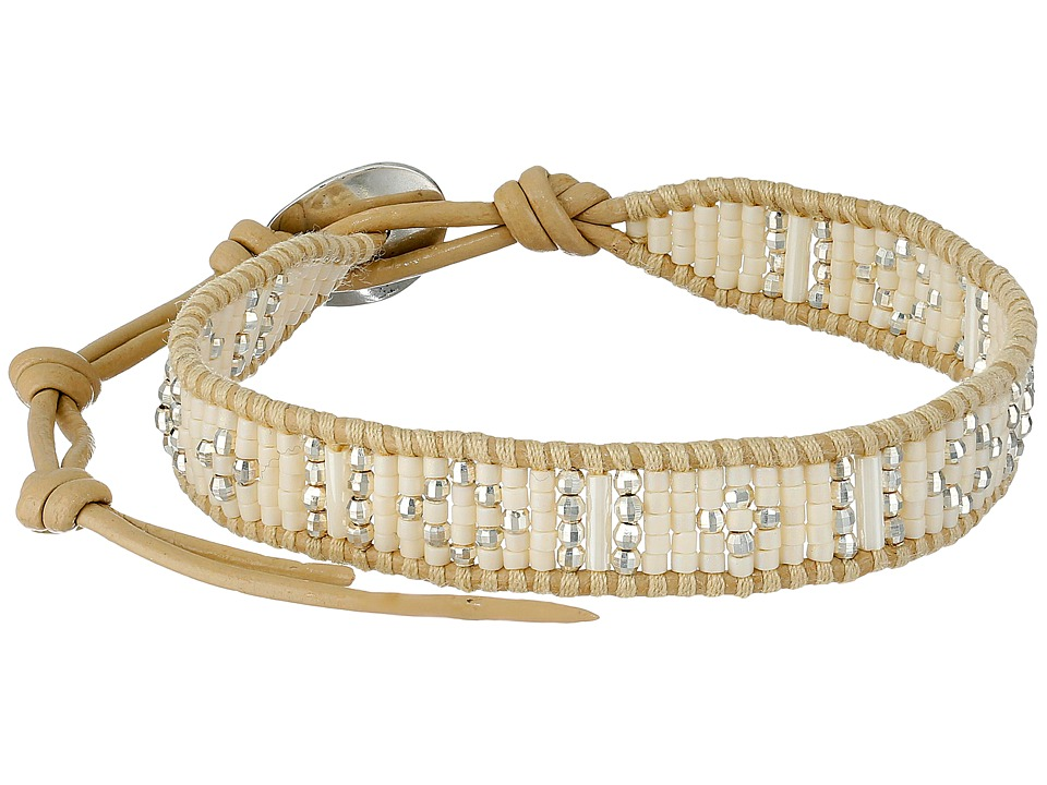 Chan Luu - 6 1/4' White Mix/Petal Single (White Mix/Petal) Bracelet