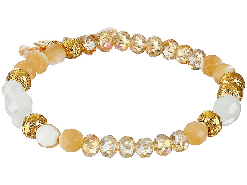 Chan Luu - 7' Stretch Single (Natural Mix/Beige) Bracelet