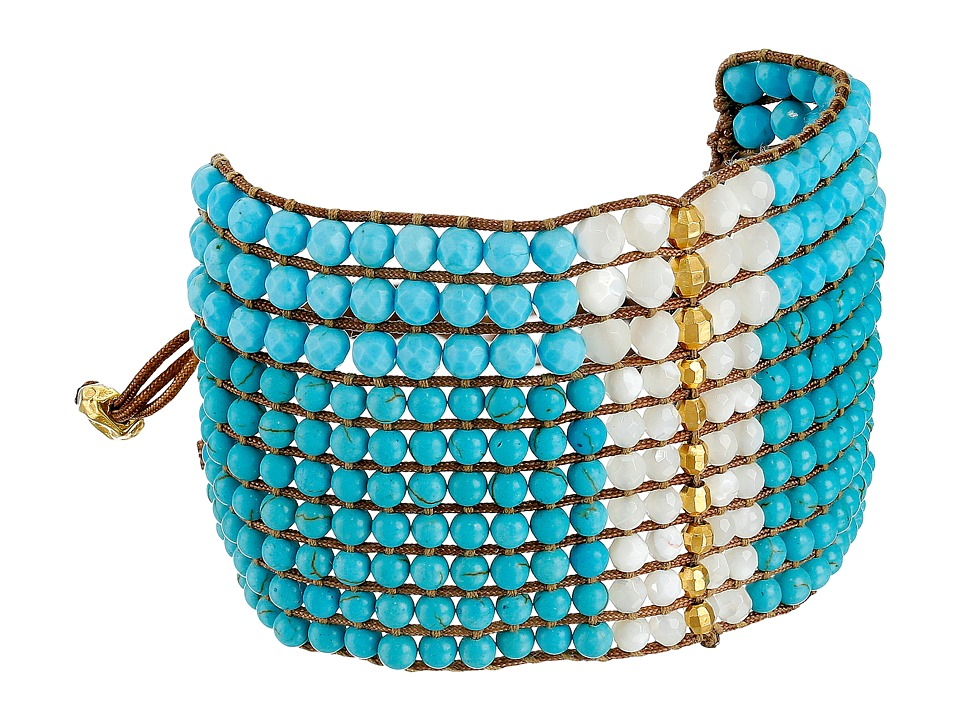 Chan Luu - 6' Adjustable Cuff (Turquoise) Bracelet