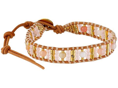Chan Luu - 6' Pink/Beige Mix Single (Pink Mix/Beige) Bracelet