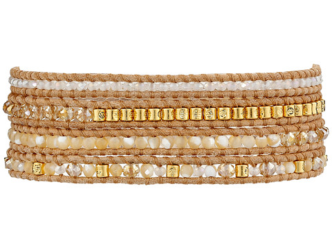 Chan Luu - 32' Natural Mix/Beige Wrap (Natural Mix/Beige) Bracelet