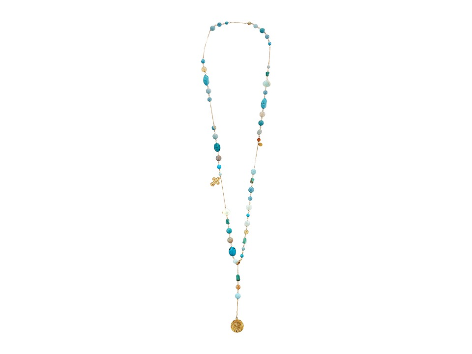Chan Luu - 40' Turquoise Mix Necklace (Turquoise Mix) Necklace