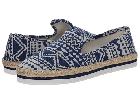 Luichiny - En Dearing (Blue/White) Women's Slip on Shoes