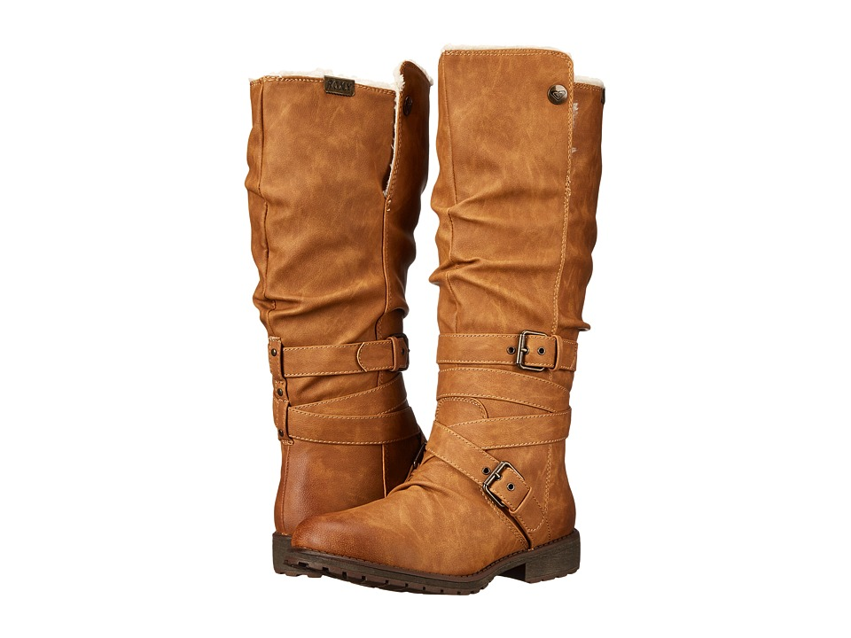 Roxy - Greenwich Boot (Tan/Brown) Women's Boots