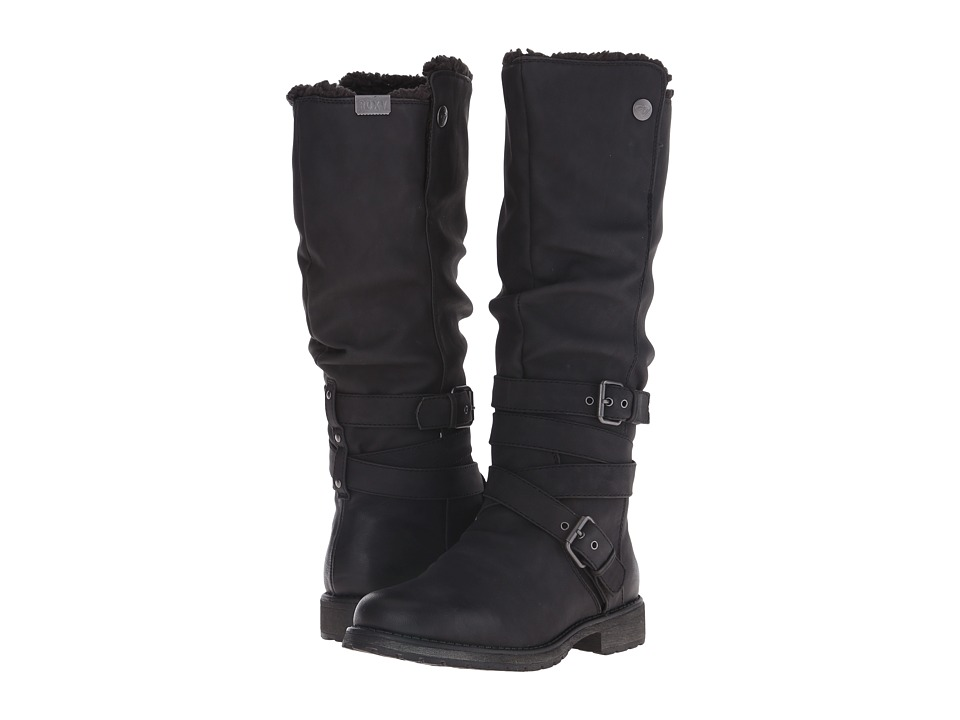 Roxy - Greenwich Boot (Black) Women's Boots