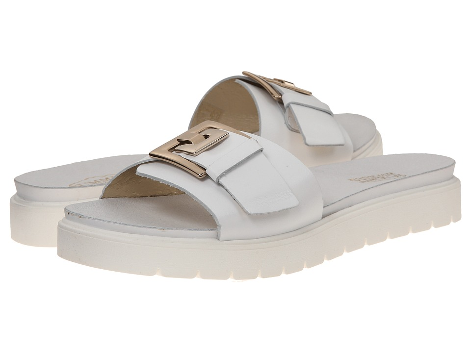 Summit White Mountain - Vivecca (White Leather) Women's Sandals