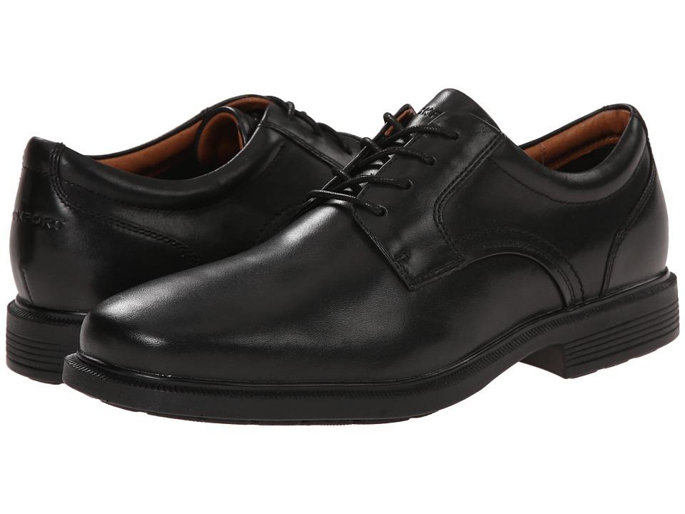 Rockport Dressports Luxe Plain Toe Ox (Black) Men