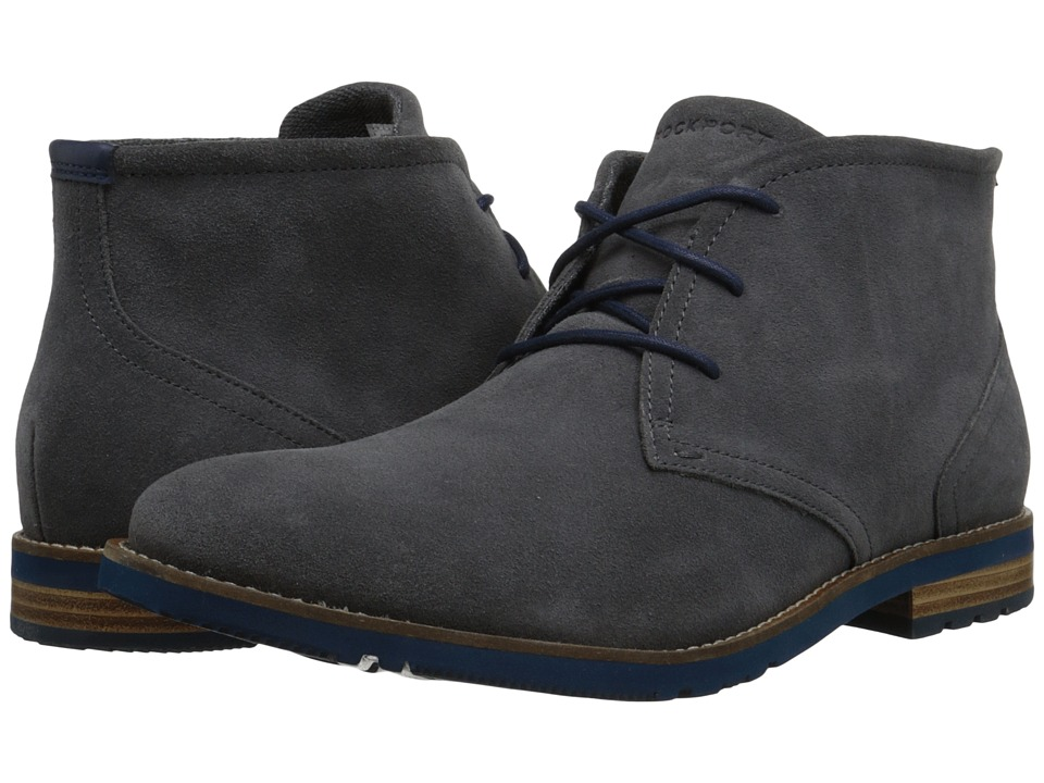 Rockport - Ledge Hill 2 Chukka Boot (Castlerock Suede) Men