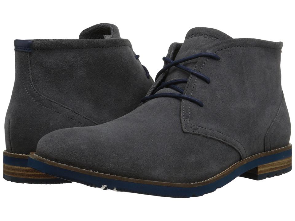 Rockport - Ledge Hill 2 Chukka Boot (Castlerock Suede) Men