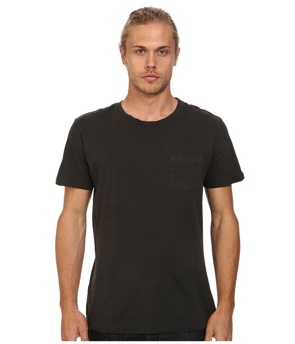 RVCA - PTC 2 Pigment Knit Tee (Coalmine) Men