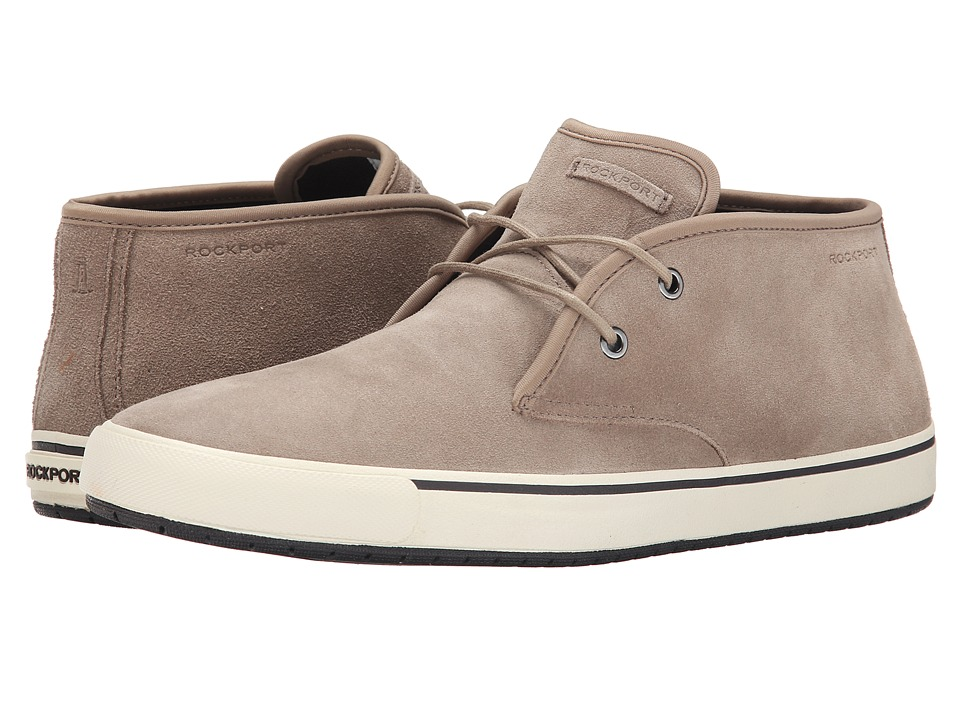 Rockport - Path to Greatness Chukka (Taupe) Men's Lace-up Boots