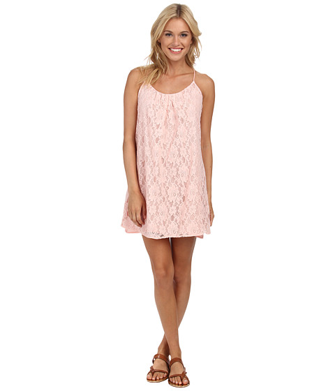 Lucy Love - Take Me To Dinner Dress (Rose) Women's Dress